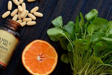 Antioxidanty Vitaminy C a E svaly sport sila zdravi