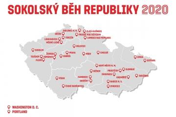Sokolsky beh republiky 2020