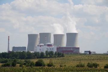 Temelin jaderna elektrarna enegrie