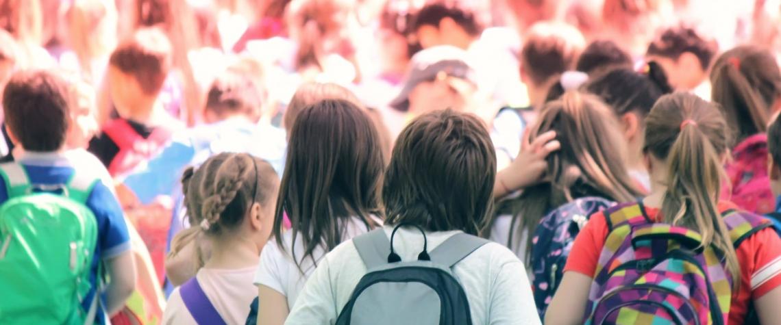 školy, děti