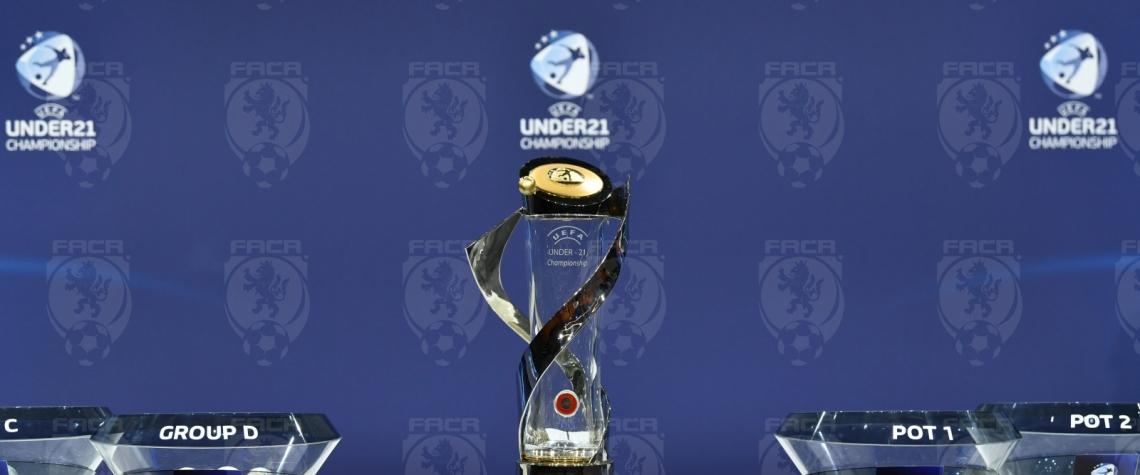 EURO U21 ve fotbale Los skupin Ceska fotbalova reprezentace