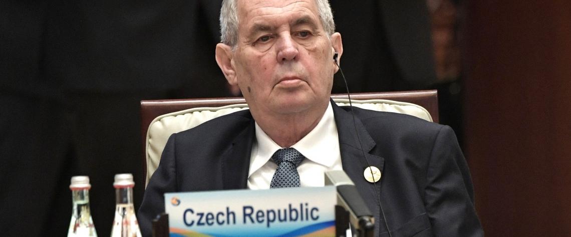 Prezident Milos Zeman