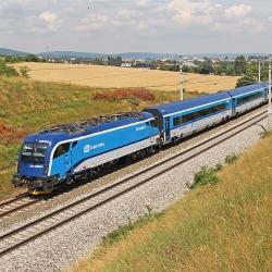 České vlaky, železnice, doprava,