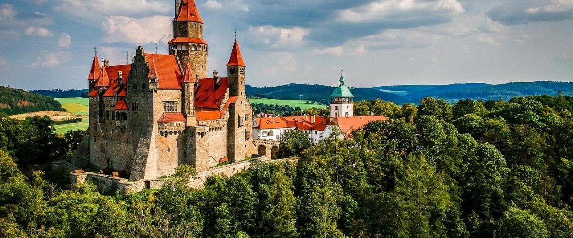 Nejkrásnější hrady v Česku – Hrad Bouzov