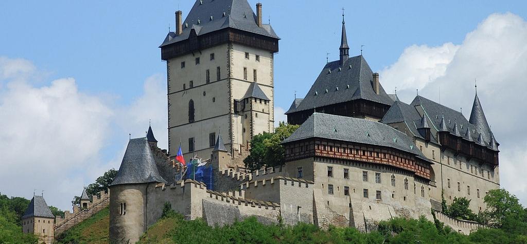 Nejkrásnější hrady v Česku - Hrad Karlštejn