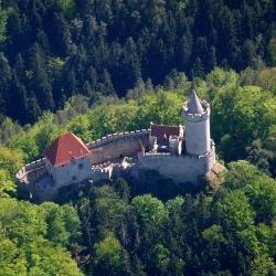 Hrady a zámky Česka - hrad Kokořín