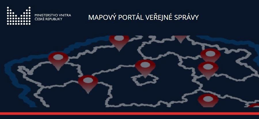 Nový mapový portál veřejné správy