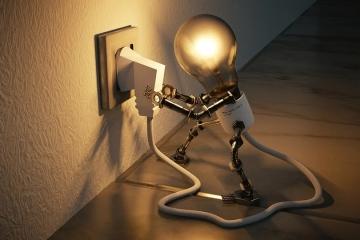 Společnost ČEZ přestala vylepovat oznámení k plánovaným odstávkám elektrické energie