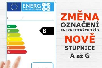 Od 1. března budou štítky na elektrospotřebičích jednodušší a přehlednější