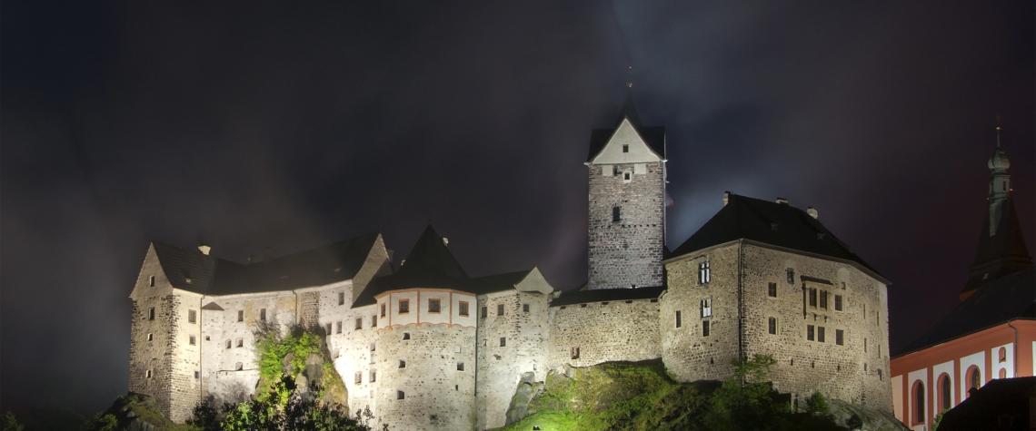 Hrady a zámky Česka - hrad Loket