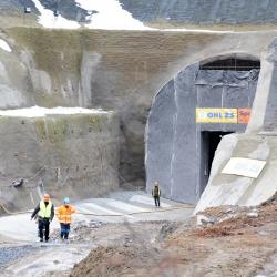 Z Prahy do Českých Budějovic o 25 minut rychleji, tunely na koridoru budou hotové v roce 2023.