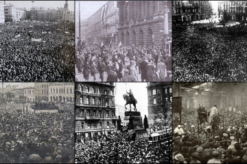 Stávky v době vzniku samostatné Československé republiky
