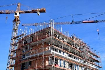 Stavebnictví, bytová výstavba v České republice