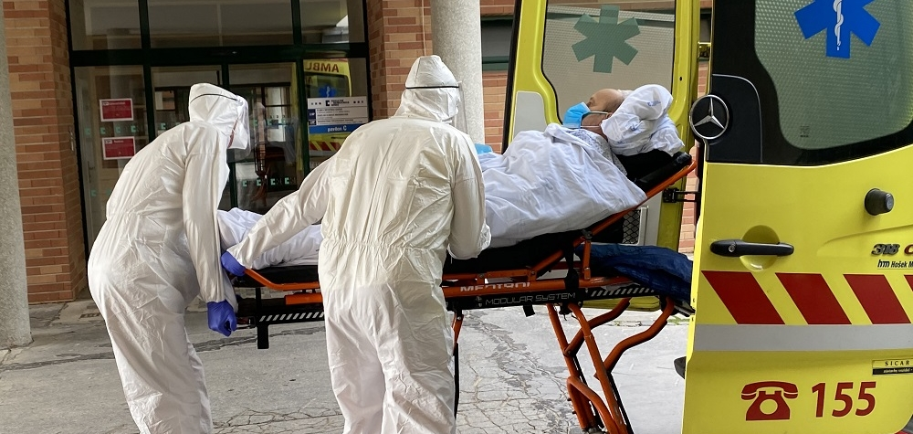 Kapacita nemocnic je v některých regionech vyčerpána