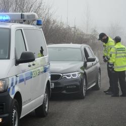 Kontroly dálničních známek odhalily jen za únor skoro dva tisíce neplatičů