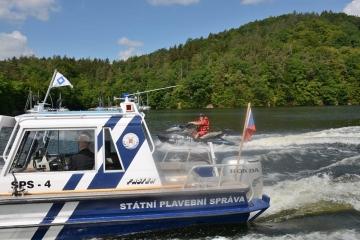 Na Slapech v létě výrazně zpomalí lodě