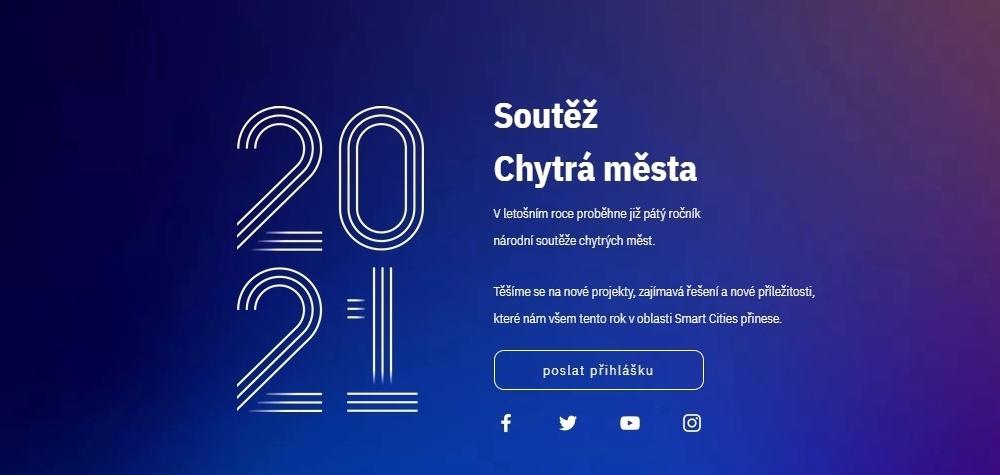 Letos přináší soutěž Chytrá města 2021 novinku v podobě projektu Smart City Hub