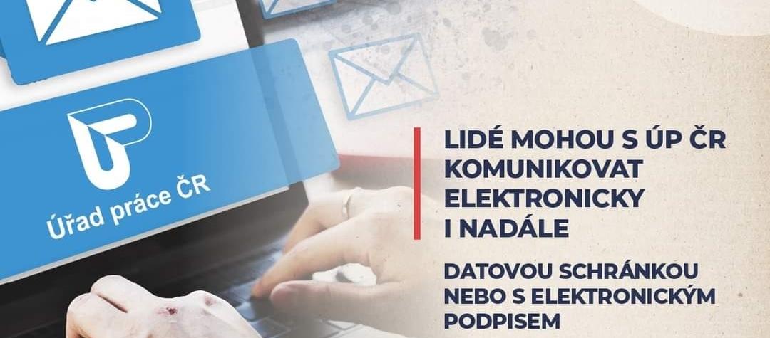 Lidé mohou s ÚP ČR komunikovat elektronicky i nadále