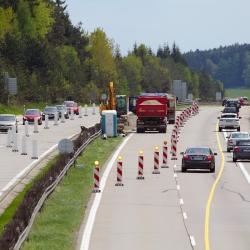 Dálnice, Zprávy z dopravy,