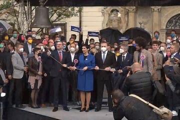 Pod heslem Dáme Česko dohromady zahájila koalice SPOLU kampaň