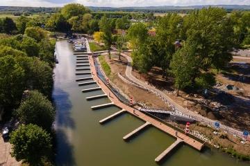 Rekreační přístav ve Veselí nad Moravou