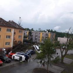 Vláda schválila přírodní katastrofou postižené oblasti pomoc ze státních hmotných rezerv
