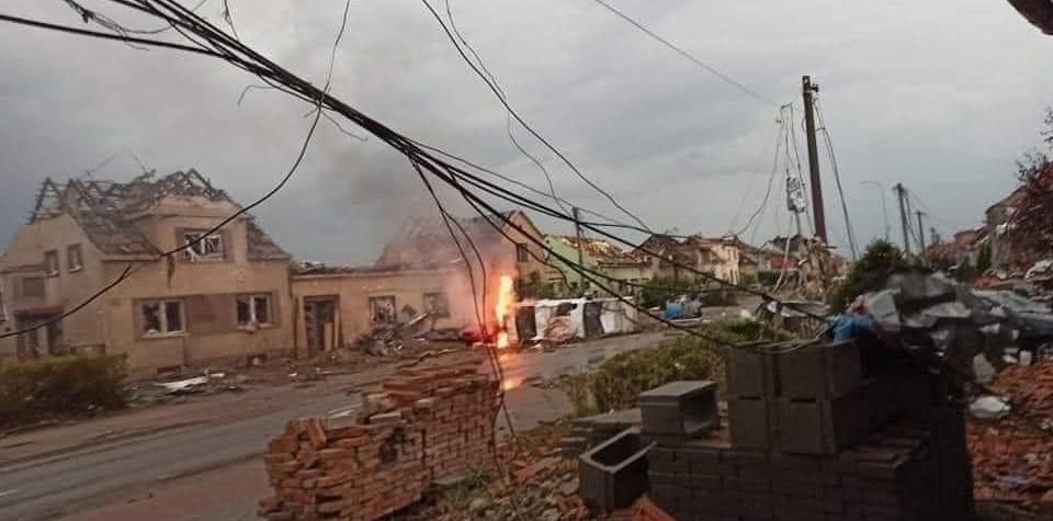 Charita posílá první finanční pomoc do obcí zasažených tornádem