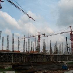krize stavebnictví, stavební produkce