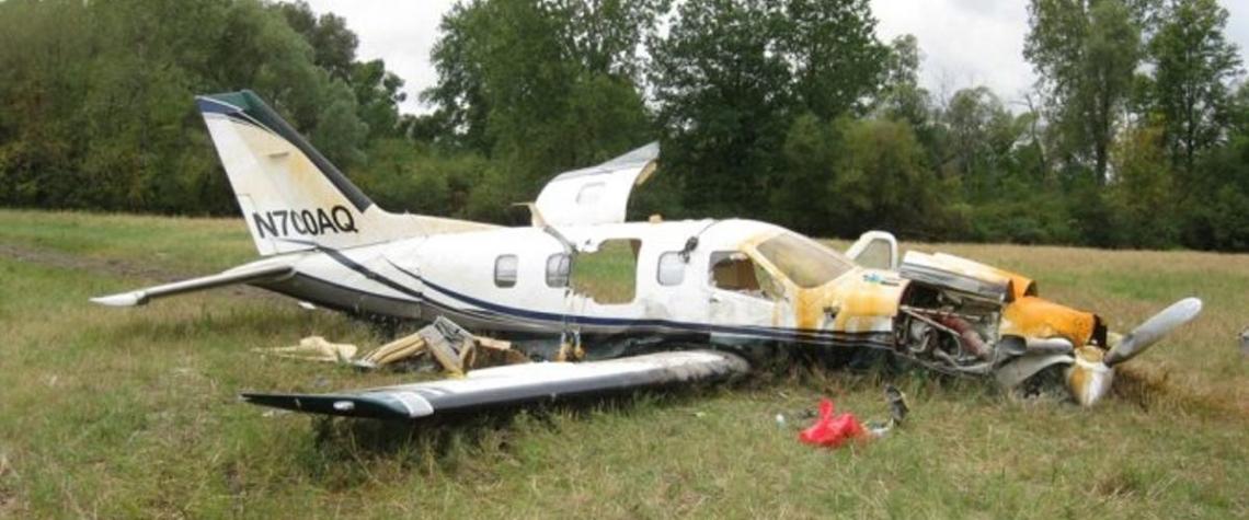 Dnes spadla dvě malá letadla, jeden pilot zahynul