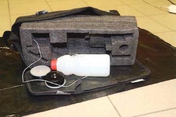 Mladíci dostali hloupý nápad a sestrojili atrapu bomby