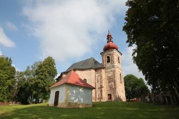 Vzácný kostel Všech svatých v Heřmánkovicích se otevře veřejnosti